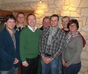 von links: Marcus Metzner, Thomas Gaß, Dr. Kai Michelmann, Christian Butz, Carsten Wagner, Günter Lunkenheimer, Claudia Klein